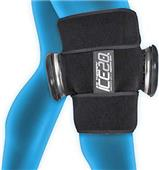 Ice20 Ice Therapy Double Knee Compression Wrap