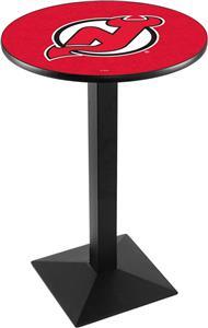 NHL New Jersey Devils Square Base Pub Table