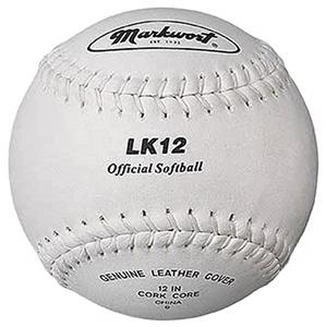 "Markwort LK12 12"" Full Grain Leather Softballs"
