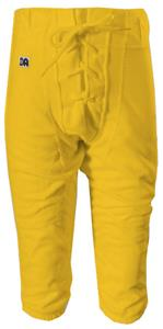 Youth Slotted Polyester Football Pants-Closeout