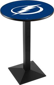 NHL Tampa Bay Lightning Square Base Pub Table