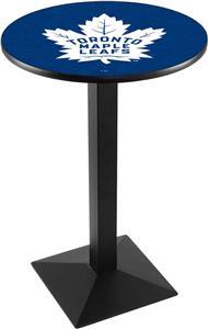 NHL Toronto Maple Leafs Square Base Pub Table