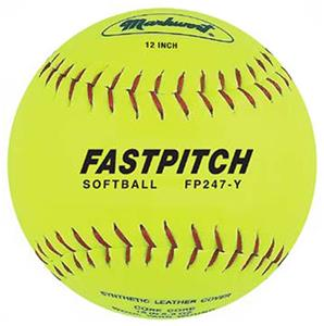 "Markwort 12"" Genuine Leather Fastpitch Softballs"