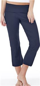 Bella+Canvas Womens Cotton Spandex Capri Pants