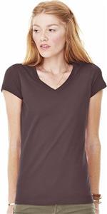 Bella+Canvas Womens Jersey Short Sleeve V-Neck Tee