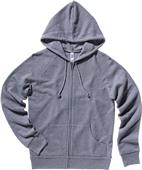 Bella+Canvas Womens Fleece Full-Zip Raglan Hoodie