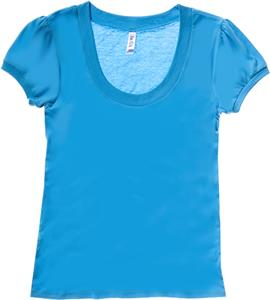 Bella Women Jersey Scoop Neck T-Shirt Top