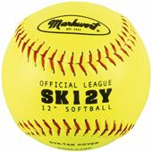 "Markwort SK12-Y 12"" Synthetic Leather Softballs"