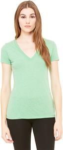 Bella+Canvas Triblend Short Sleeve Deep V-Neck Tee