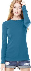 Bella+Canvas Womens Thermal Long Sleeve Tee