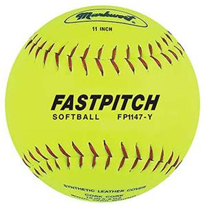 "Markwort 11"" Genuine Leather Fastpitch Softballs"