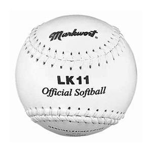 "Markwort LK11 11"" Full Grain Leather Softballs"