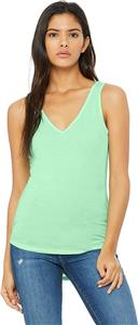 Bella+Canvas Womens Flowy V-Neck Tank