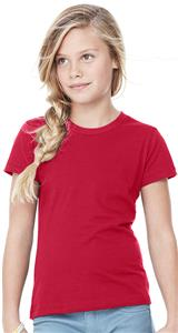 Bella+Canvas Girl's Jersey Short Sleeve Tee