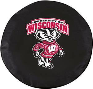 Holland Univ of Wisconsin Badger Logo Tire Cover