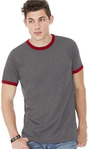 Bella+Canvas Men's Jersey Short Sleeve Ringer Tee