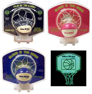 Baden NITE BRITE Mini Hoop & Ball Set Basketball