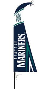 BSI MLB Seattle Mariners Feather Flag