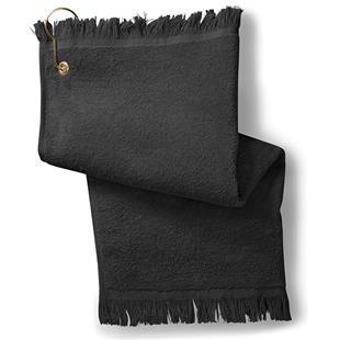 Anvil Fringed Fingertip Towel with Grommet/Hook