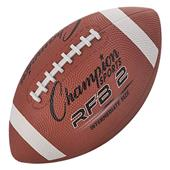 Champion Sports Intermediate Size Rubber Footballs