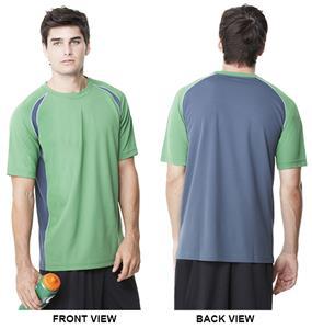 Alo Sport Men's Color Blocked Short Sleeve Tee