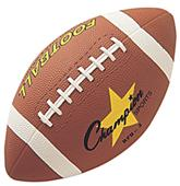 Champion Sports Junior Size Rubber Footballs