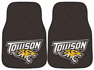 Fan Mats Towson University Carpet Car Mats (set)