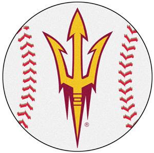 Fan Mats Arizona State University Baseball Mat