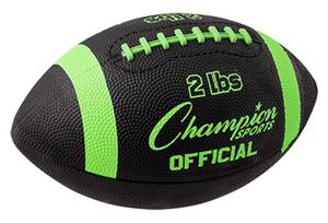 Champion 2 lb. Official Strength Trainer Footballs