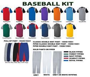 High 5 Wildcard Baseball Jersey Uniform Kits