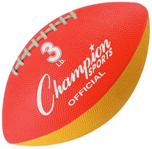 Champion 3 lb. Official Strength Trainer Footballs