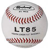 "Markwort LT85 8.5"" Leather Cover Baseballs Youth"