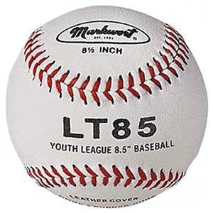 "Markwort LT85 8.5"" Leather Cover Baseballs Youth"