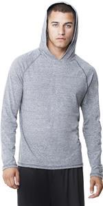 Alo Sport Men Performance Triblend Hooded Pullover