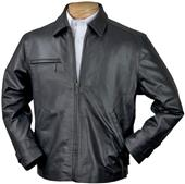 Burk's Bay Classic Italian Driving Leather Jacket