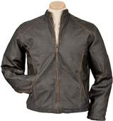 Burk's Bay Mens Retro Jacket w/Vintage Napa Finish