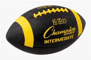 Champion 2 lb. Intermediate Trainer Footballs