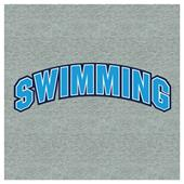 Image Sport Swimming Collegiate Crew Sweatshirt