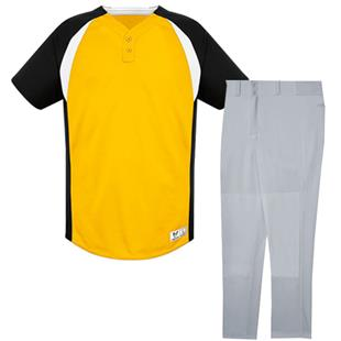Gravity Two-Button Baseball Jersey Uniform Kits