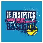 Image Sport If Fastpitch was Easy... T-Shirt