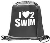 Image Sport I Love 2 Swim Reflective Backpack