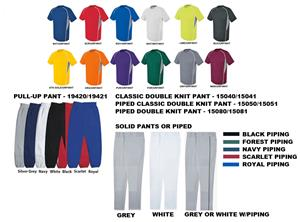 High 5 EVOLUTION SS Baseball Jersey Uniform Kits