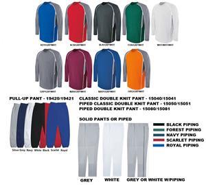 High 5 EVOLUTION LS Baseball Jersey Uniform Kits