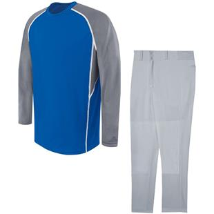 High 5 EVOLUTION LS Baseball Jersey Uniform Kits