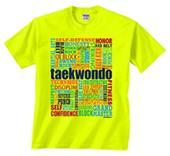 Image Sport Taekwondo Words T-Shirt