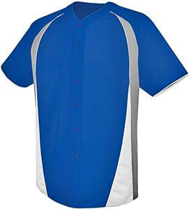 High Five Ace Full-Button Baseball Jersey