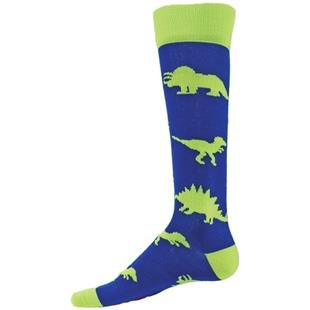 Red Lion Dinosaurs Over-The-Calf Knee High Socks