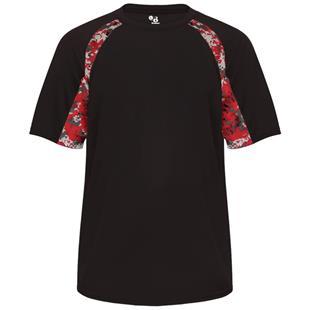 Badger Sport Digital Hook Performance Tee Shirt