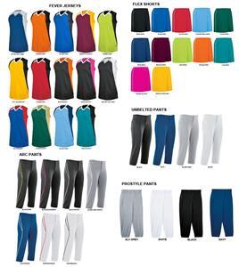 High 5 Womens Fever Softball Jersey Uniform Kits