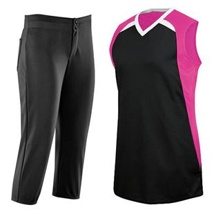 High 5 Womens Fever Softball Jersey Uniform Kits